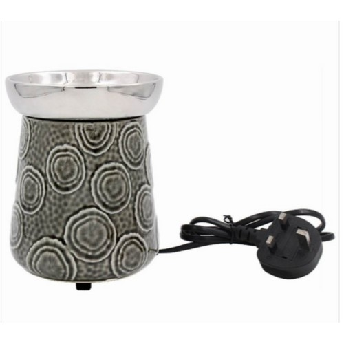 Ceramic Oil Burner By Lesser and Pavey (UK 3 Pin Plug)