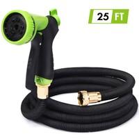 25/50/75 FT Expanding Garden Hose Flexible Water Hose w/9 Function