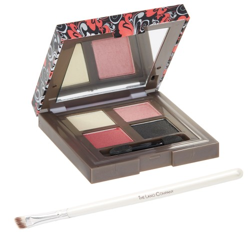 Glam Collection Eyeshadow Quad & Precision Powder Eyeshadow Brush