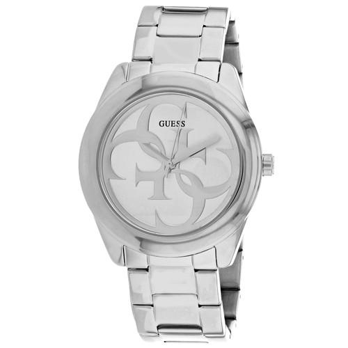 Guess Women's G-Twsit Silver Dial Watch - W1082L1