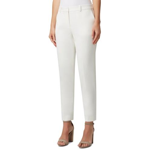 Tahari Asl Women's Straight-Leg Dress Pants White Size 14