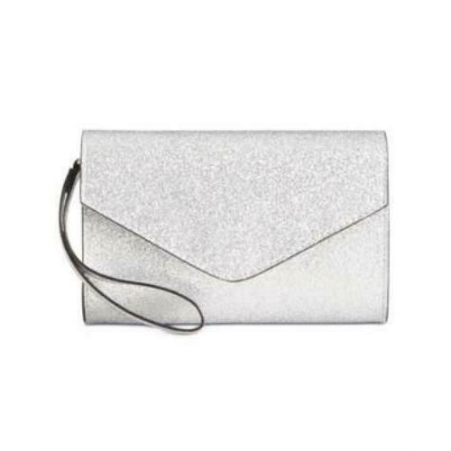 Rosie Harlow Junior's Glitter Wristlet Grey Size Large