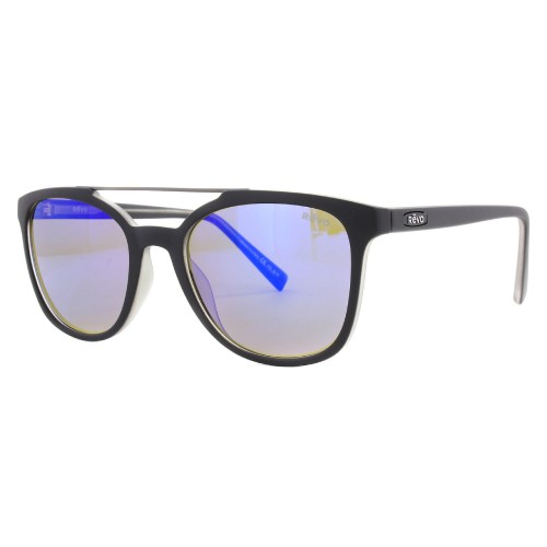 Revo Clayton Sunglasses Matte Black, Crystal RE1040