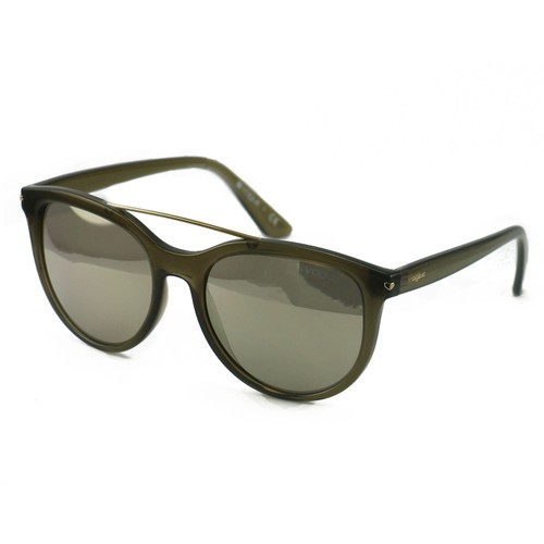 Vogue Women's Sunglasses VO5134S 25305A Brown/Gold 55 18 140 Full Rim