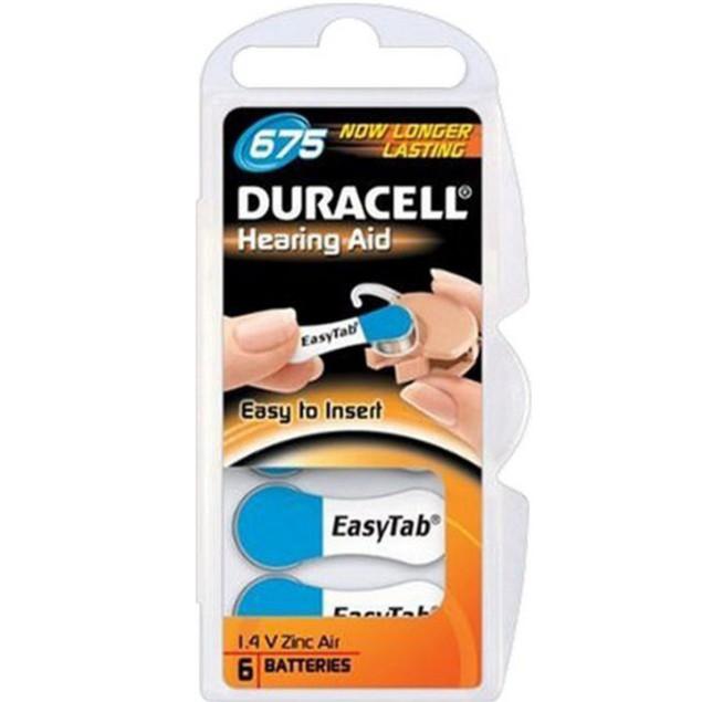 Duracell Activair Size 675 Zinc Air Hearing Aid Batteries (60 pack)