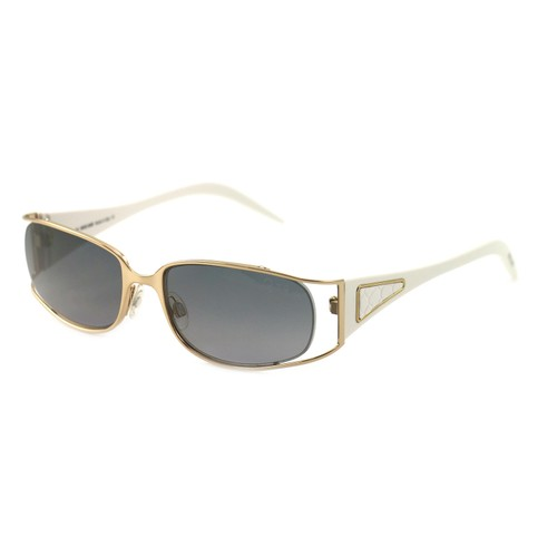 Roberto Cavalli Women's Sunglasses RC0424 772 Gold/White 53 17 130 Full-Rim Oval