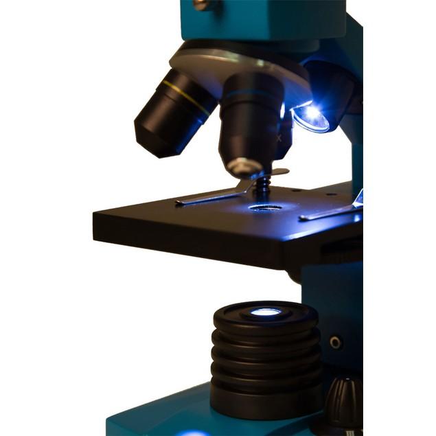 Levenhuk Rainbow 2L PLUS Microscope - Azure