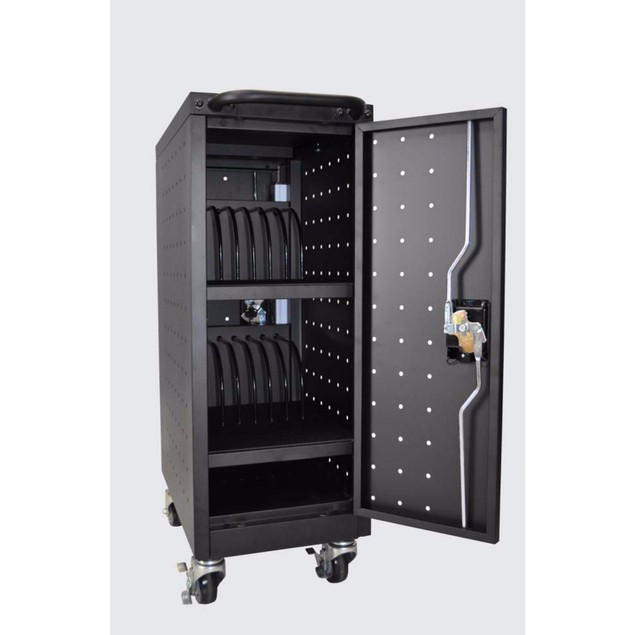 Luxor 16 Tablet/Chromebook Computer Electric Charging Cart