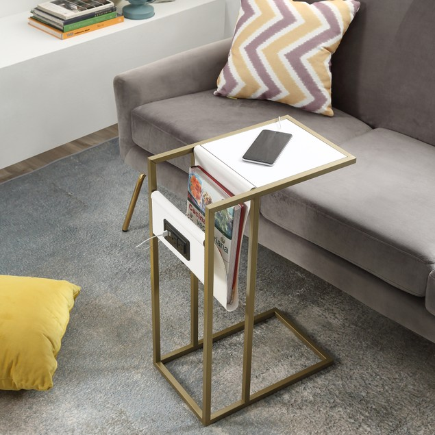 Loft Lyfe Flyy  C Table/ End Table/ Side Table/ Laptop Stand