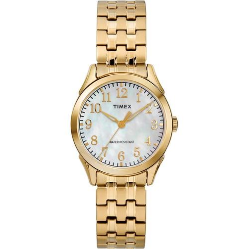 Timex Briarwood Gold-Tone Expansion Ladies Watch