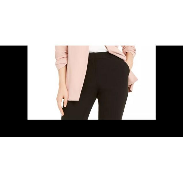 Alfani Women's Ruched Sleeve Open Front Blazer Dark Pink Size X-Large