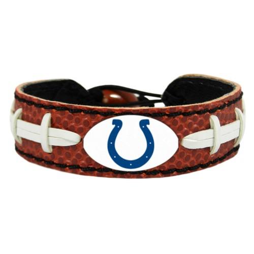 Indianapolis Colts Classic Football Bracelet HOU NFL Leather Lace Laces