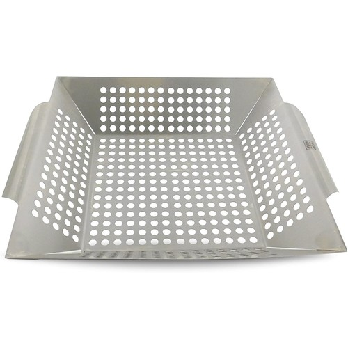Yukon Glory Large Grilling Basket for Vegetables, Fish, and Meats