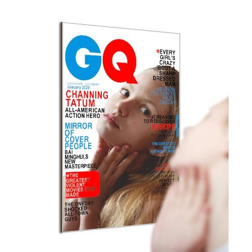 GQ Magazine Cover Mirror