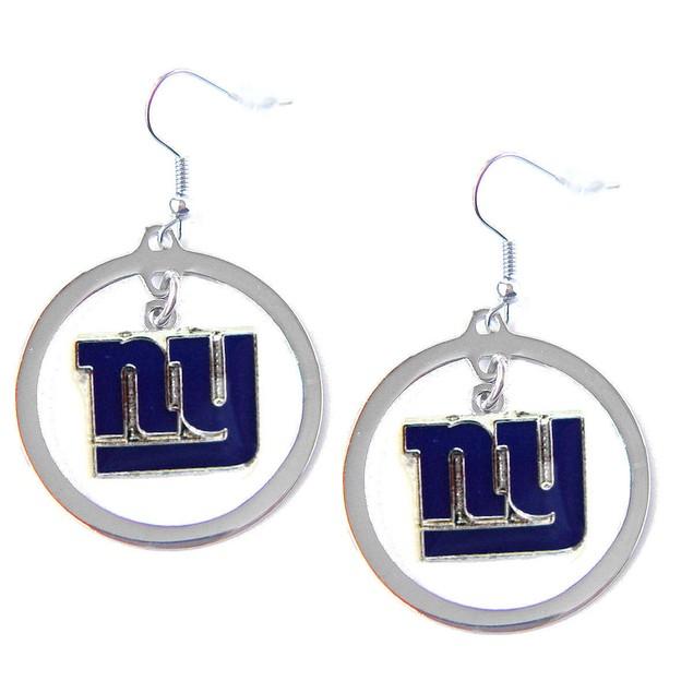 Newyork Giants Hoop Earring