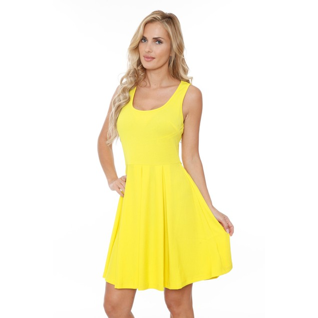 Summer Fit and Flare Dress - 6 Colors