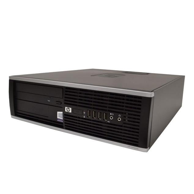 HP 8100 Desktop PC Bundle (Intel Core i5, 8GB RAM, 2TB HDD, Windows 10)