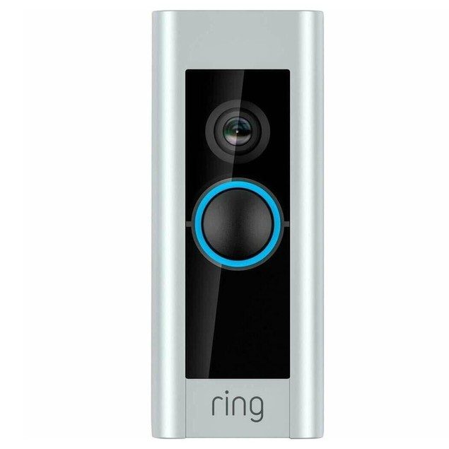 Ring Video Doorbell Pro 1080P Wi-Fi Hard Wired Smart HD Camera with Night Vision Refurbished by Ring