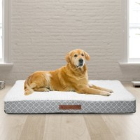 Wags & Whiskers Memory Foam Pet Bed (Multiple Styles)