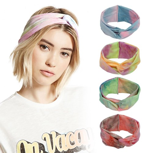 Tie Dye Twist Headwraps