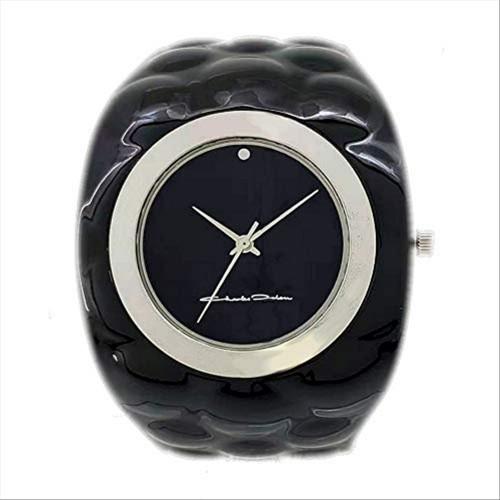 Charles Delon Women's Watches 4824 LBBB Black/Black/Silver Stainless Steel Quartz
