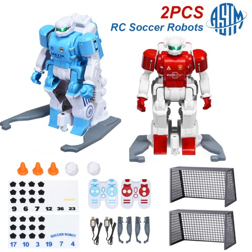 Costway RC Soccer Robot Kids Remote Control Football Game Simulation Educat