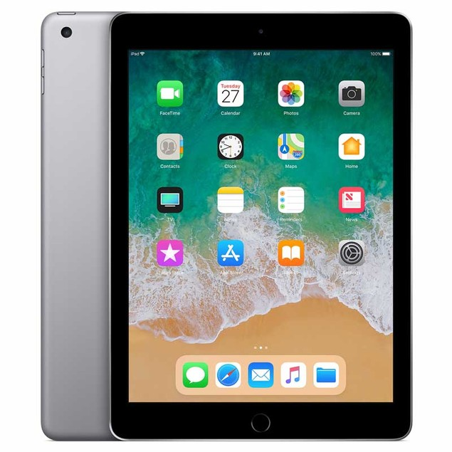 Apple iPad 5th Gen 32GB Bundle (Space Gray, WiFi)