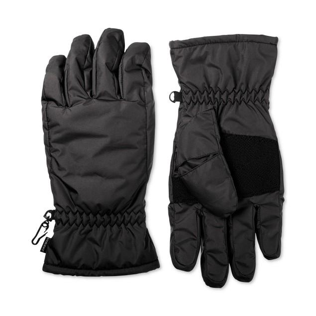 Isotoner Signature Men's Smartdri Gloves Black Size Medium