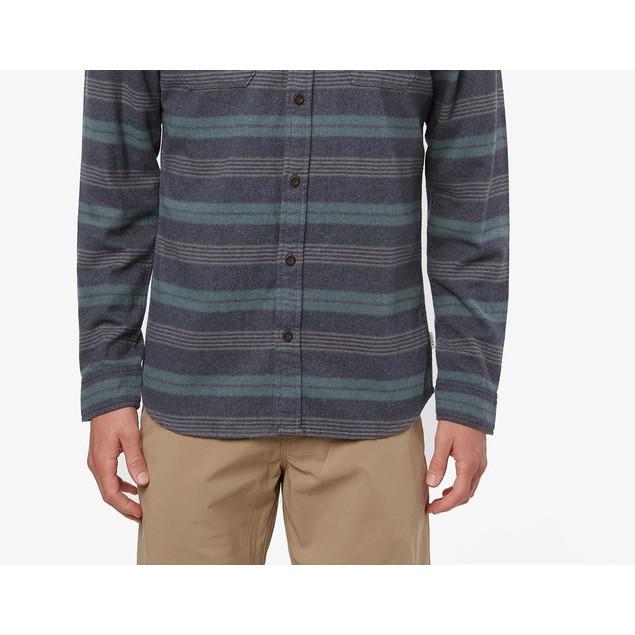Jack O'neill Men's Blanket Long Sleeve Shirt Navy Size XX Large
