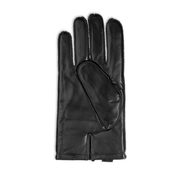 Isotoner Signature Men's Leather Driving Gloves Black Size Large