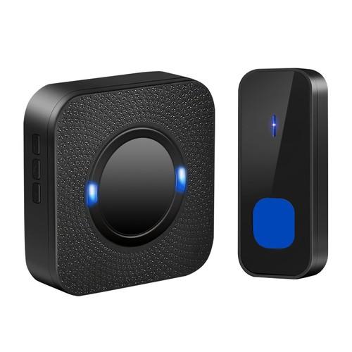 Wireless Doorbells Rings IP55 Waterproof 984ft Cordless Doorbell Chimes