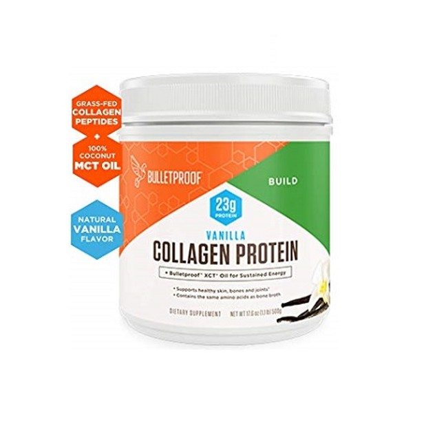 Bulletproof Vanilla Collagen Protein Powder