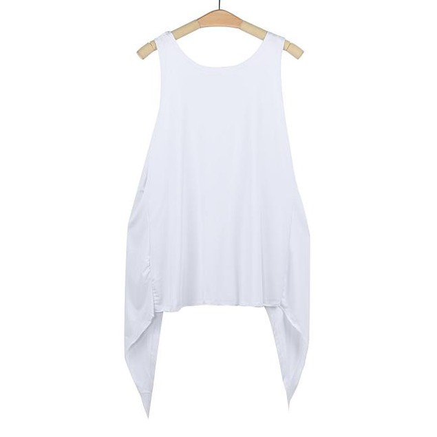 Women Sleeveless Summer Blouse