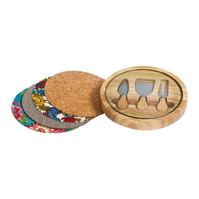 Picnic Plus Sagas Cheese Board Wood