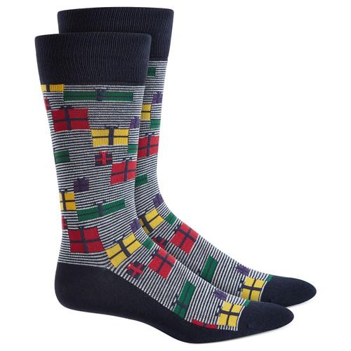 Alfani Men's Gift Boxes Socks  Med Blue Size Regular