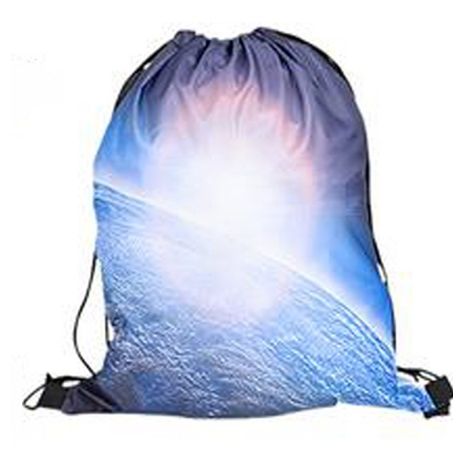 Earth Galaxy Drawstring Backpack