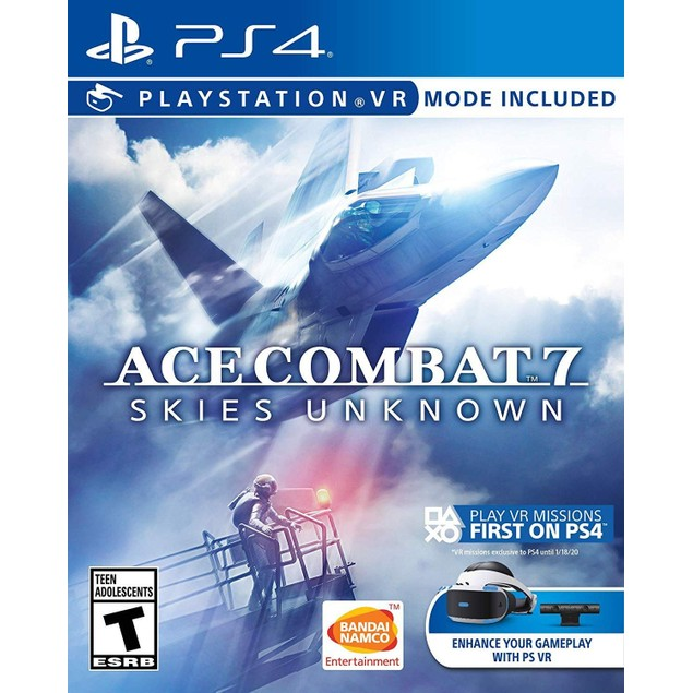Ace Combat 7 Skies Unknown PS4 Game (#)