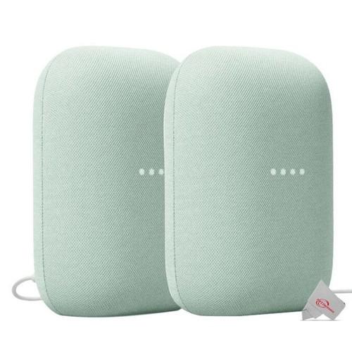 2x Google Nest Audio Smart Speaker (Sage)