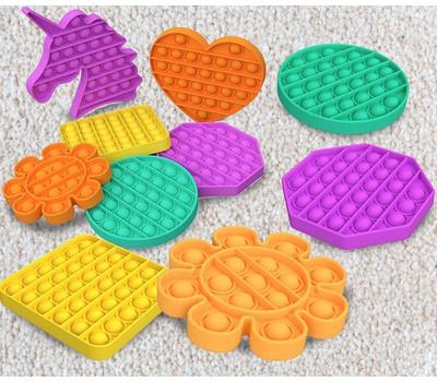 6 Piece Set: Jumbo Pop Fidget Sensory Toys Was: $49.99 Now: $16.99.