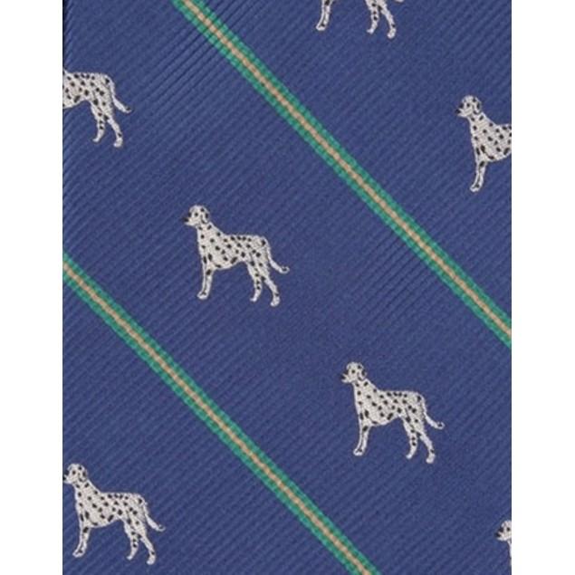 Club Room Men's Dalmatian Stripe Tie Blue Size Regular