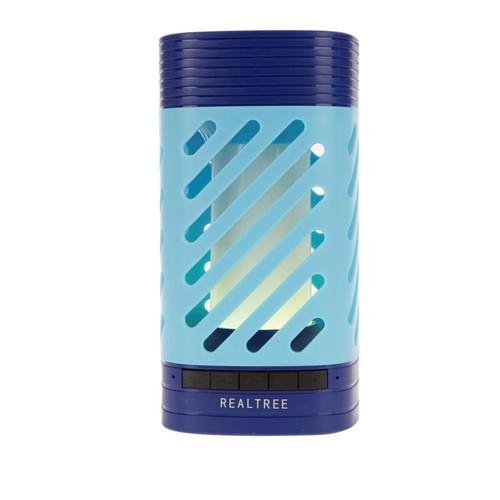 REALTREE LED Lantern Bluetooth Speaker, RLT6006-WV, Blue (Certified Refurbished