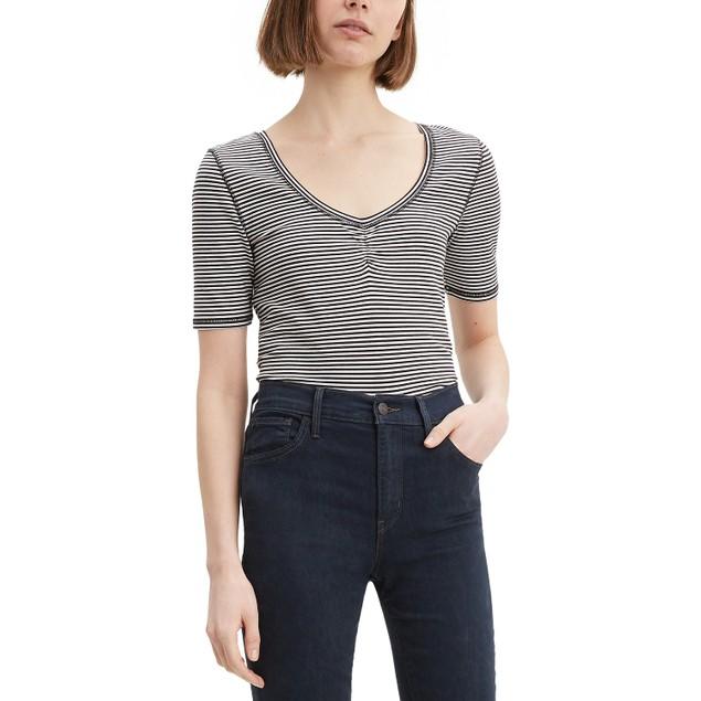 Levi's Women's Cecilia T-Shirt White Size Extra Large