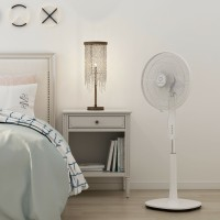 "Fantask 16"" Oscillating 3-Speed Pedestal Fan"