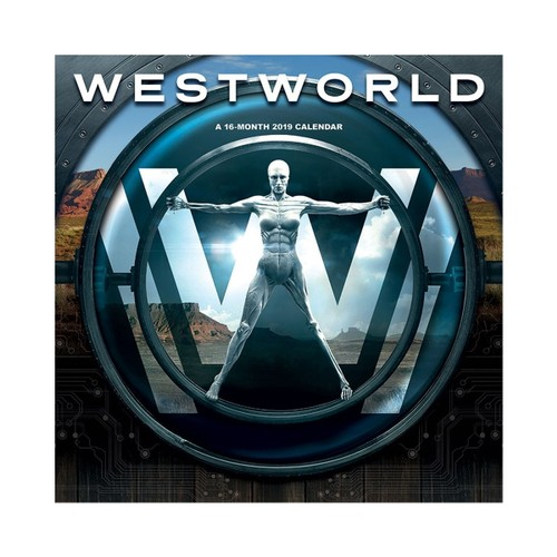 Westworld 16 Month 2019 Wall Calendar
