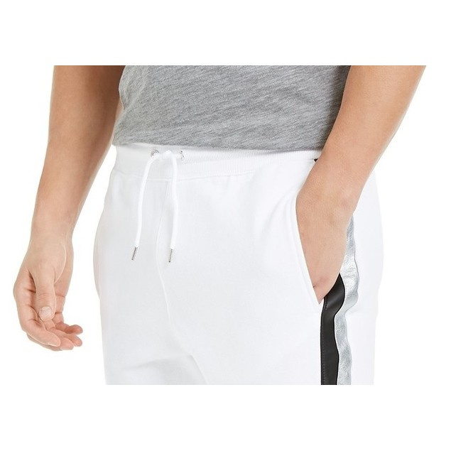 INC International Concepts Men's Portrait Jogger Pants White Size X-Large