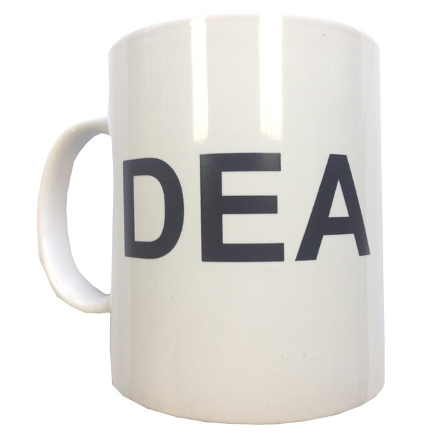 DEA Coffee Mug Hank Schrader Breaking Bad AMC ASAC Ceramic Tea TV Show