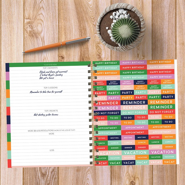 July 2020 - June 2021 Best Life Daily Weekly Monthly Luxe Planners