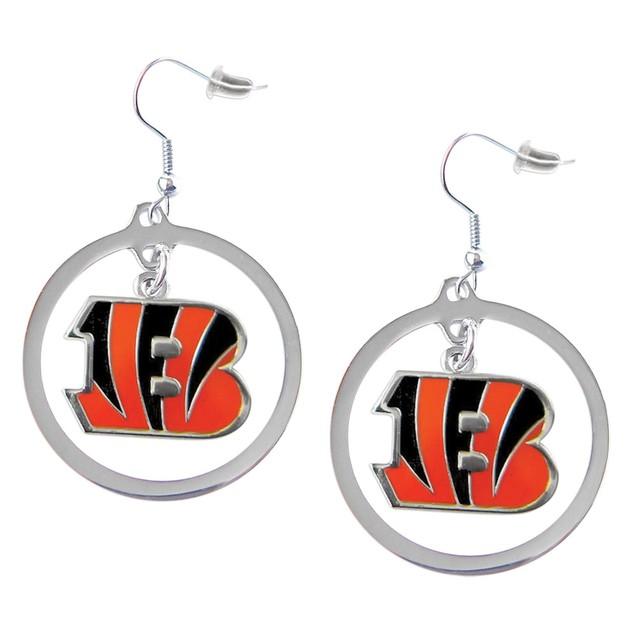 Cincinnati Bengals Hoop Earring