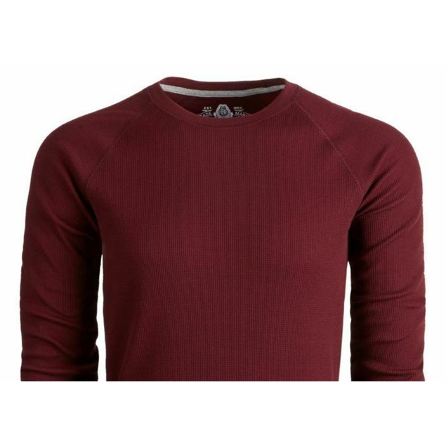 American Rag Men's Thermal Shirt Red Size Small