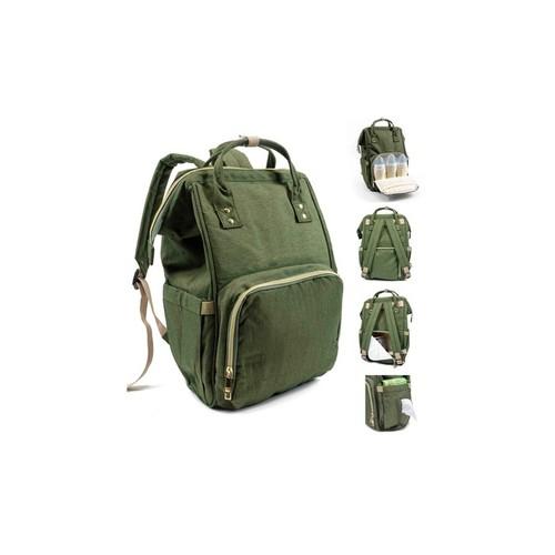 Multifunction Diaper Bag Water-Resistant Backpack